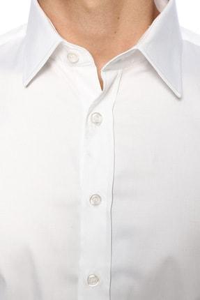 Network Erkek Beyaz Smokin Gömlek 1067462 4
