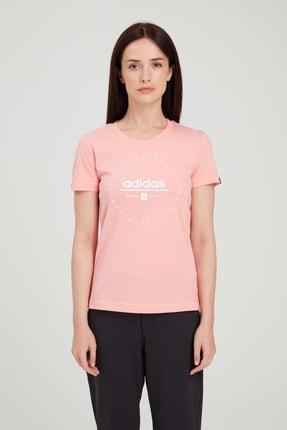 adidas Kadın T-Shirt -  W Adı Clock T  - FM6152 2