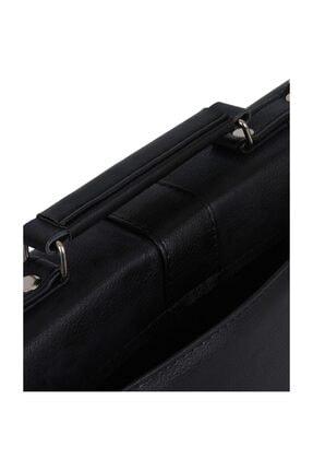 Amigo Unisex Bond 2 Evrak Çantası Siyah A-1220 3