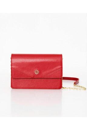 Aker Zincirli Kırmızı Çanta A191205 1
