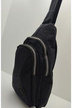 Çanta Badybag kanvas kumaş siyah çanta