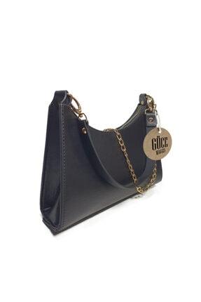 Güce Siyah Baget Baguette Zincir Askılı El Ve Çantası Gc009000f 2