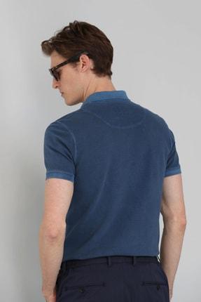 Lufian Vernon Spor Polo T- Shirt Indigo 3