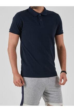 Ltb Erkek  Lacivert Polo Yaka T-Shirt 012208450860890000 0