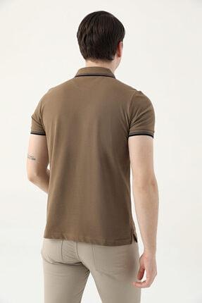 D'S Damat Ds Damat Slim Fit Vizon Pike Dokulu T-shirt 3