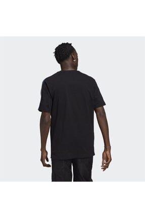 adidas Erkek Siyah Adicolor Tricolor Tişört 1