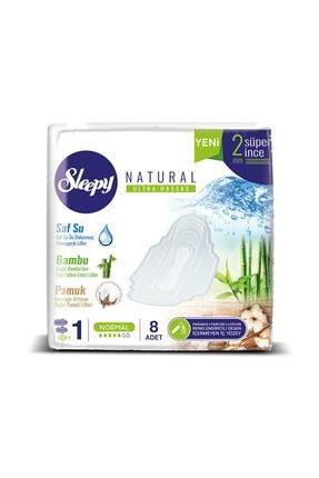 Sleepy Hijyenik Ped Hijyenik Ped Natural Ultra Normal 8 Adet Tekli Paket 1
