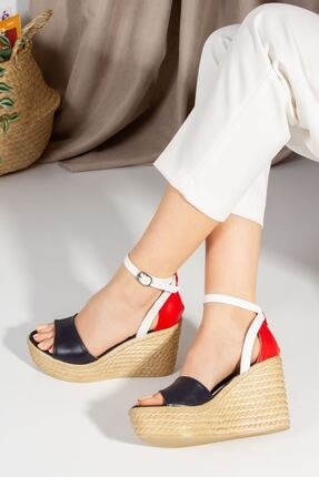 derithy Kadın Vinle Dolgu Topuklu Ayakkabı  1-lzt0590 3