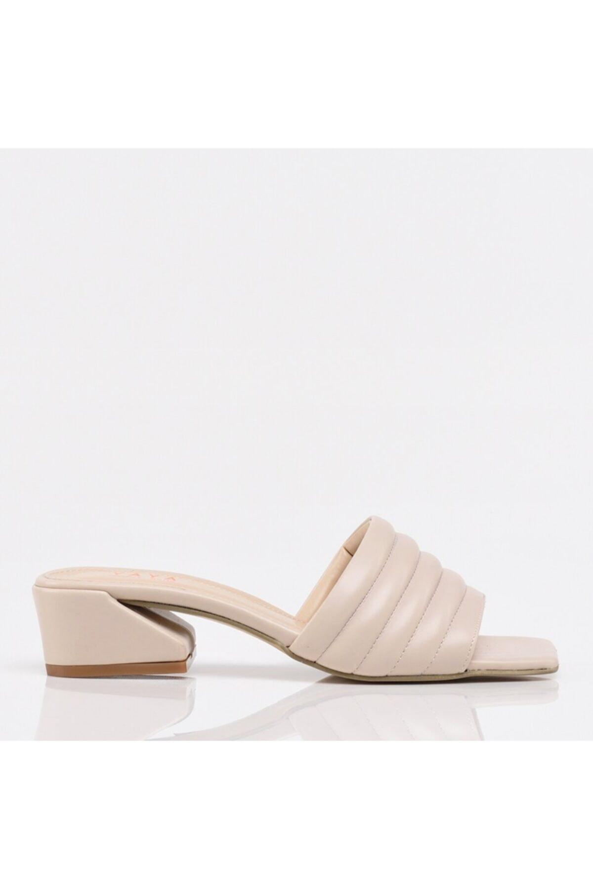 Bej Yaya Kadın Sandalet & Terlik