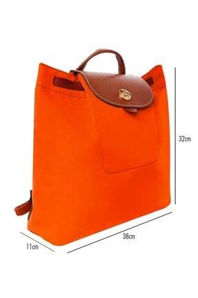 TH Bags Kadın / Kız Sırt Çantası Th20700 Oranj 2