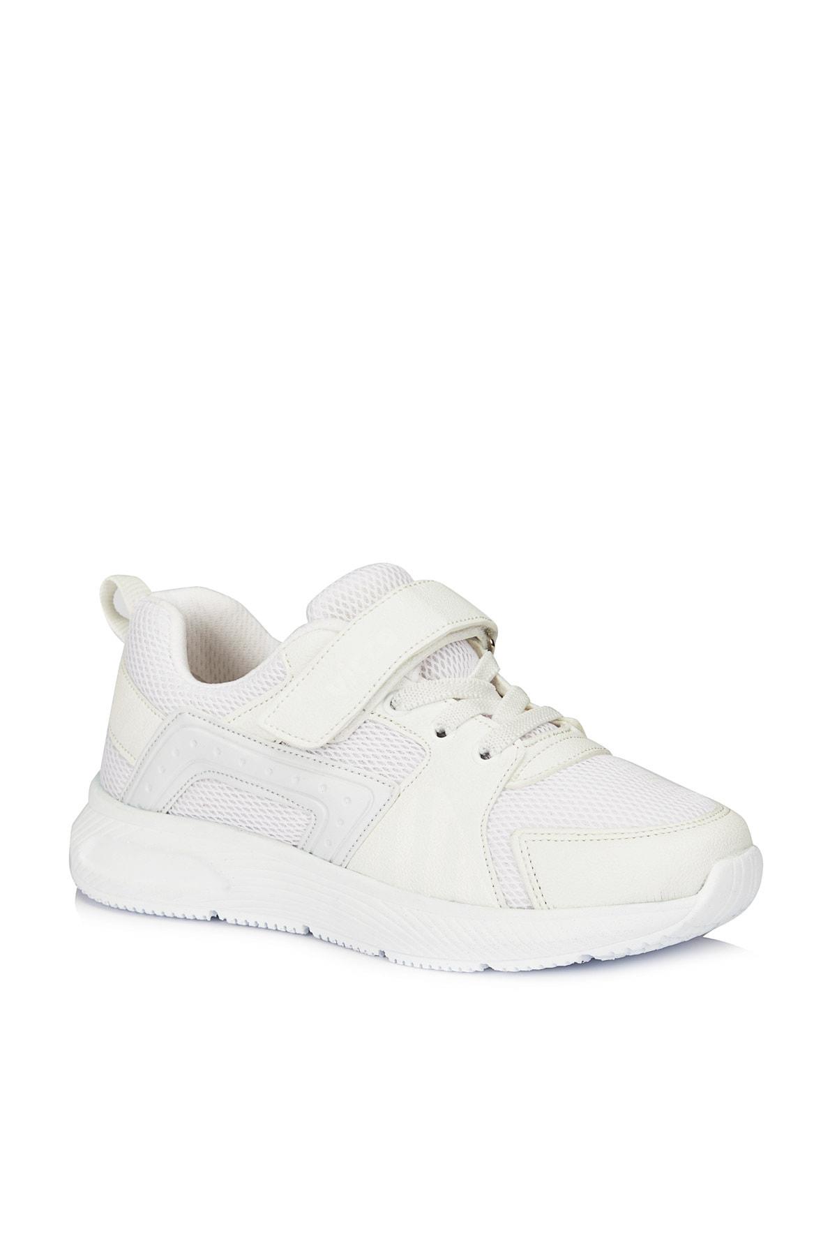 Weston Unisex Çocuk Beyaz Spor Ayakkabı