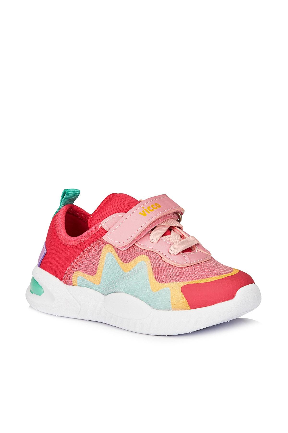 Robi Hafif Kız Bebe Fuşya Spor Ayakkabı