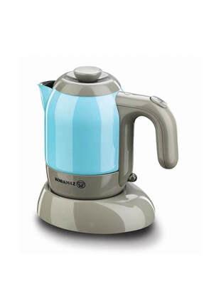 KORKMAZ A475-01 Mia Elektrikli Cezve Kahve Makinesi Mavi 0