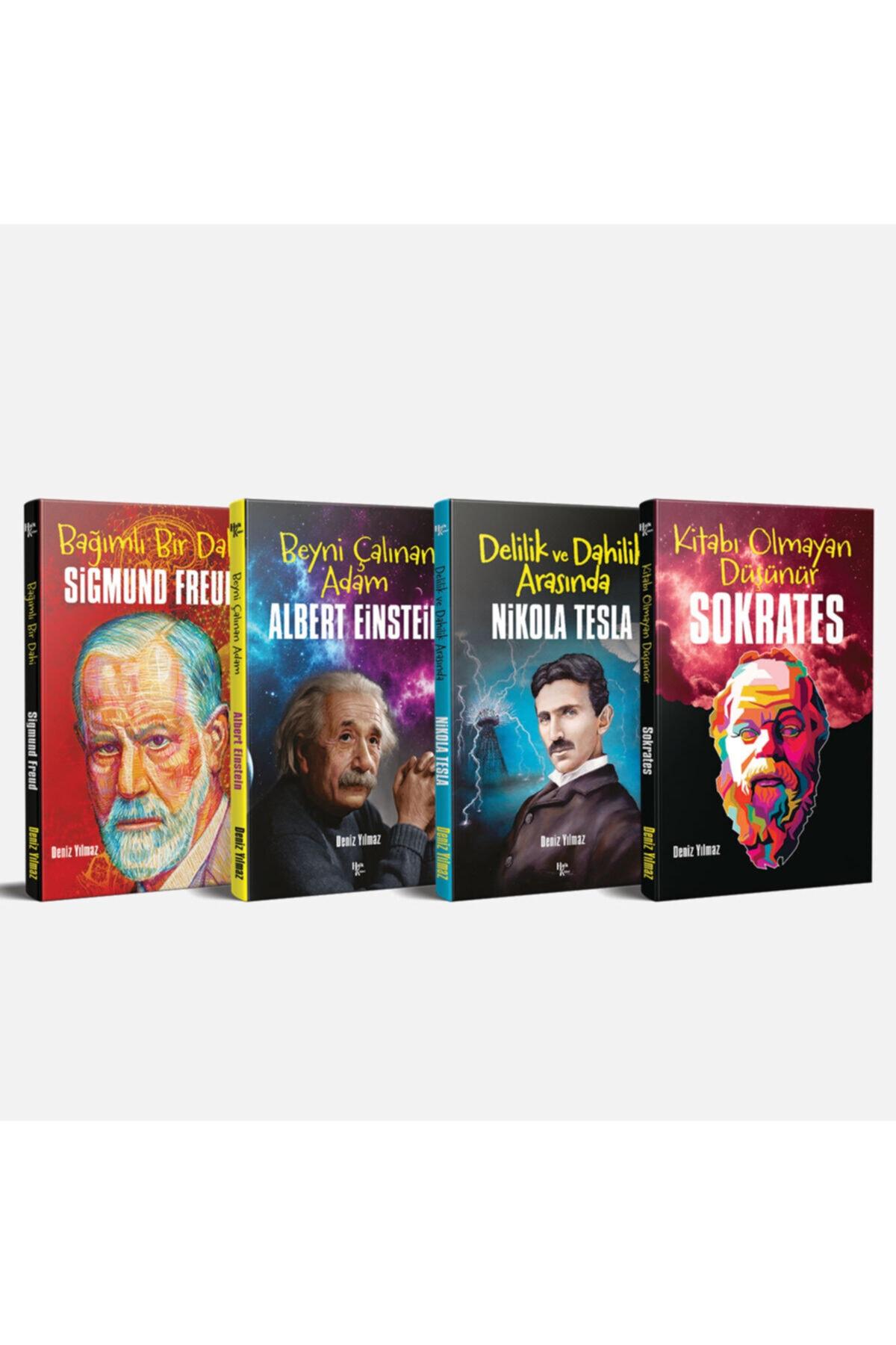 Dünyaya Yön Veren Bilim Adamları Seti - 4 Kitap