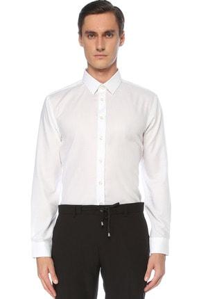 Network Erkek Beyaz Gömlek 1075272 0