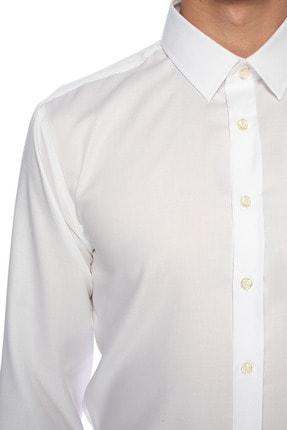Network Erkek Beyaz Gömlek 1075272 3