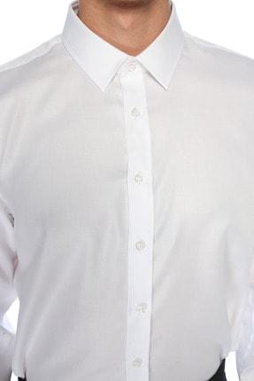 Network Erkek Beyaz Gömlek 1075287 3