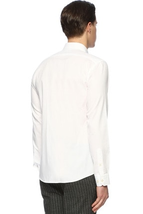 Network Erkek Beyaz Gömlek 1071090 2