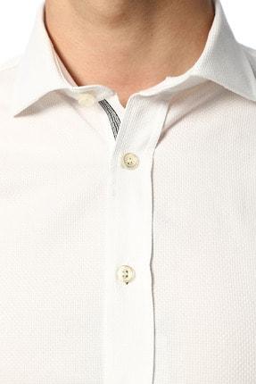 Network Erkek Beyaz Gömlek 1071090 3