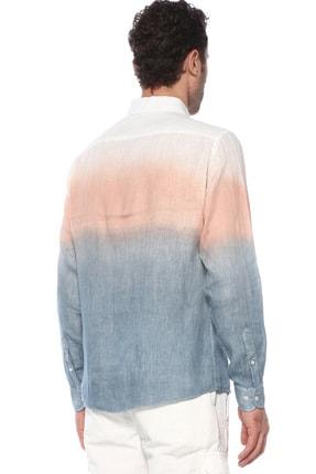 Network Erkek Beyaz İndigo Gömlek 1073948 2