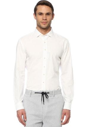 Network Erkek Beyaz Gömlek 1074028 0