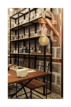Zümra Ahşap Aplik Ahşap Aplik Duvar Lambası Cafe Otel Restorant Için Ahşap Aplik Duvar Lambası 4