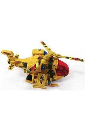 Toyspark Pilli Işıklı Yerde 360 Derece Dönebilen Büyük Helikopter 1