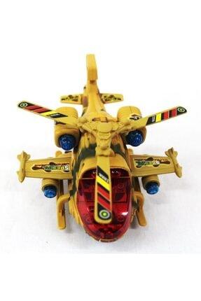 Toyspark Pilli Işıklı Yerde 360 Derece Dönebilen Büyük Helikopter 2
