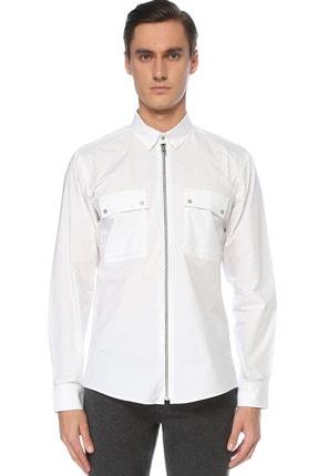 Network Erkek Beyaz Gömlek 1076256 0