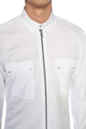 Network Erkek Beyaz Gömlek 1076256 3