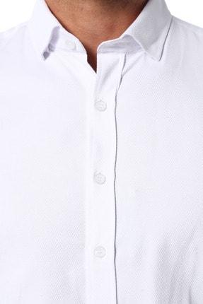 Network Erkek Beyaz Gömlek 1077283 3