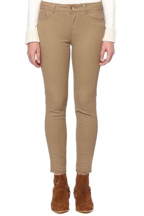 Kadın Camel Denim Pantolon 1075927
