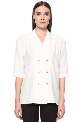 Kadın Ekru Gömlek 1077056