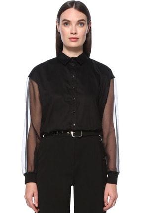 Kadın Siyah Gömlek 1076013