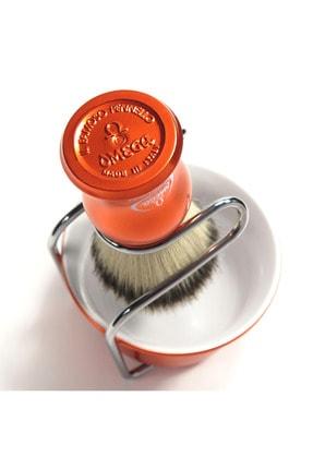 Omega Tıraş Fırçası Hi-brush Fiber+tıraş Tası Ve Kurutma Aparatı Vb065 2