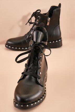 Wenti Shoes Kadın Siyah Günlük Bot Ws138 1