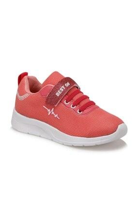 Unisex Çocuk Yavruağzı Sneaker Ayakkabı Kırmızı Çocuk Sneaker Ayakkabı
