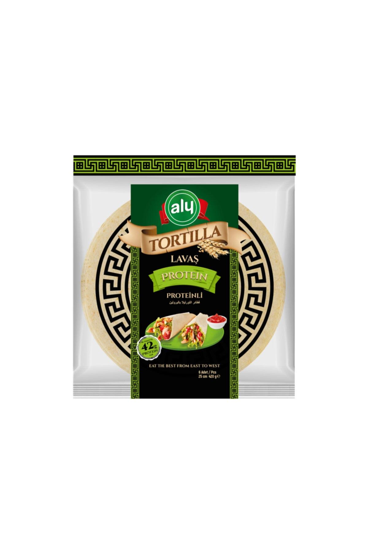 Proteinli Tortilla Lavaş 25 cm 6'lı Paket 420 g