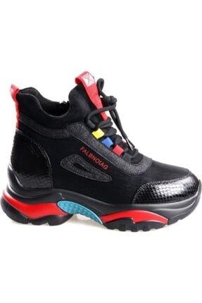 Kadın Siyah Ayakkabı 20K385S-inci