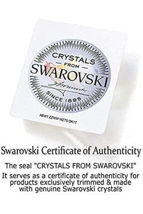 Swarovski 5 Taş Bayan Yüzük 1
