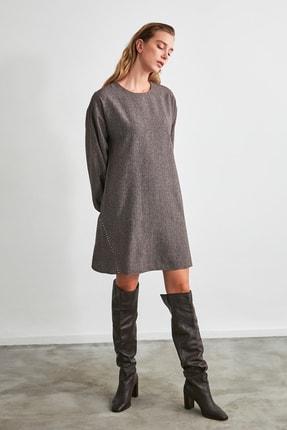 TRENDYOLMİLLA Kahverengi Basic Elbise TWOAW21EL2286 0