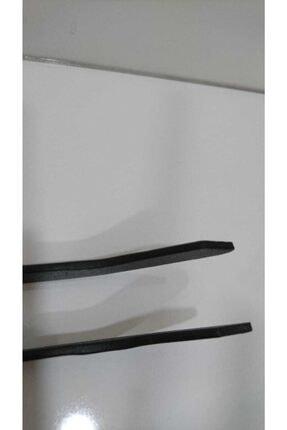 Oktay Elektrostatik Toz Boyalı Demir Maşa - Mangal Soba Maşası - Şömine Maşası Ateş Maşası 40cm 2