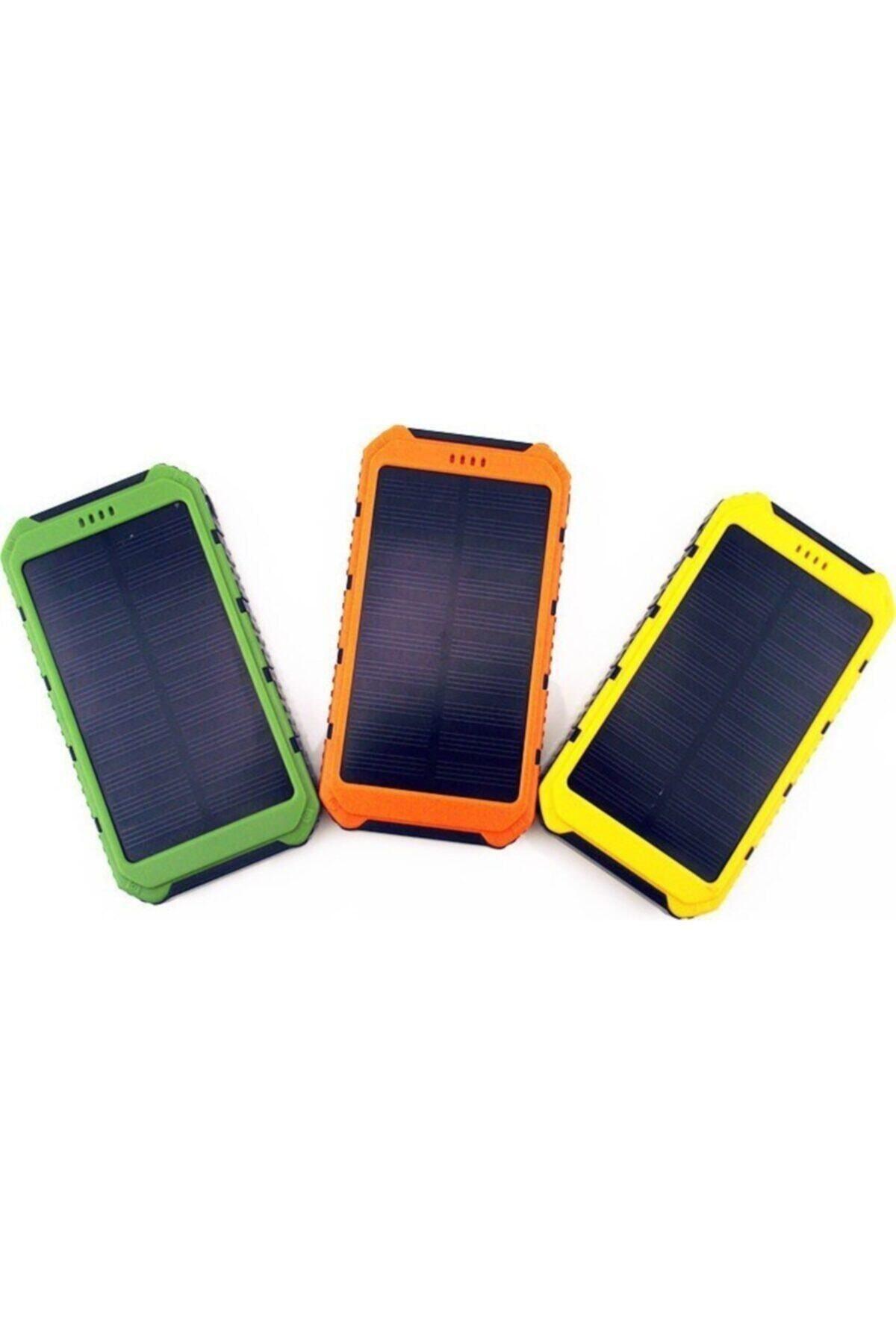 Arfseb Solar Güneş Enerjili 15000 Mah Taşınabilir Şarj Cihazı - Powerbank