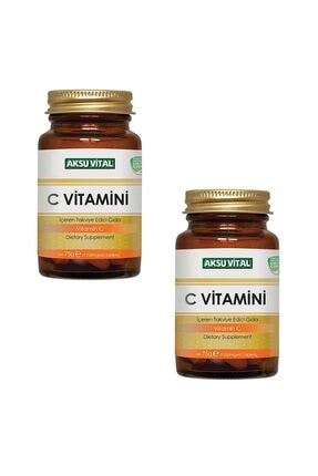 Aksu Vital C Vitamini 1250mg 60 Tablet X 2 Adet 0