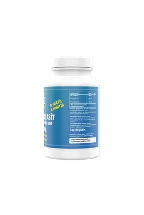 Ncs Alpha Lipoic Acid 200 Mg Coenzyme Q10 100 Mg 90 Tablet L Carnitine Ilevali 1