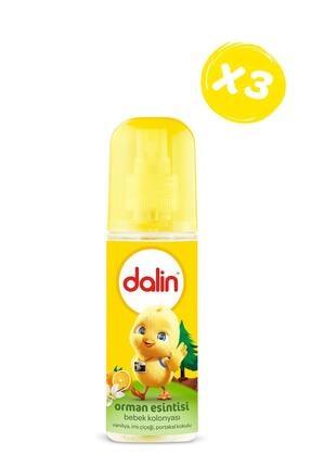 Dalin Bebek Kolonyası Orman Esintisi 150 ml X 3 Adet 1
