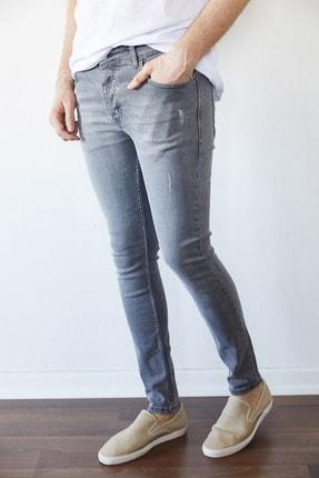 XHAN Gri Slim Fit Jean Pantolon 1kxe5-44256-03 1
