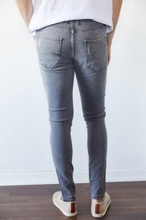 XHAN Gri Slim Fit Jean Pantolon 1kxe5-44256-03 2
