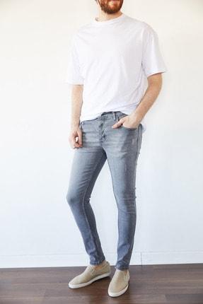 XHAN Gri Slim Fit Jean Pantolon 1kxe5-44256-03 3