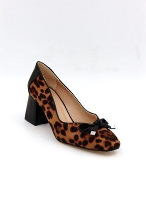 Tessera Kadın Leopar-siyah Topuklu Ayakkabı 1